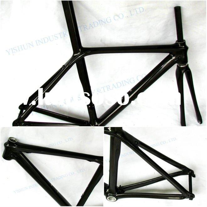 carbon racing bike frame, carbon road bike frame