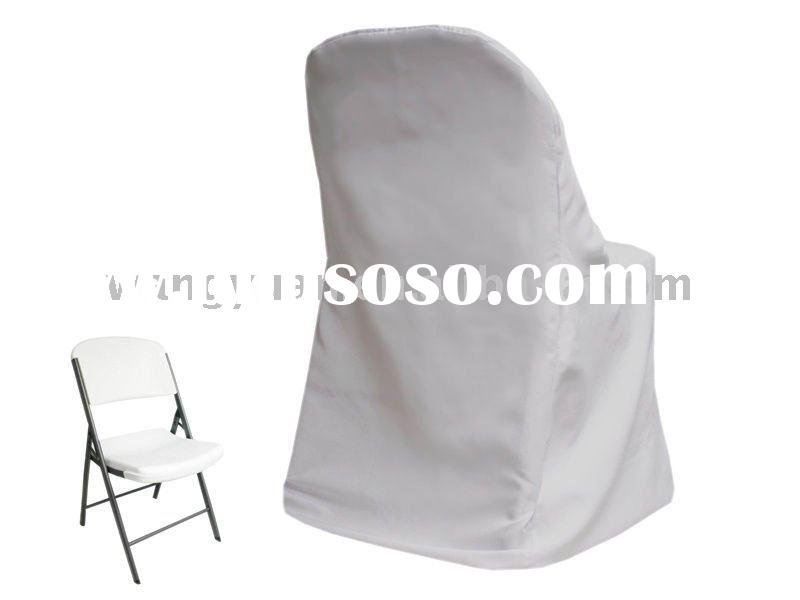 white wedding chair covers for sale