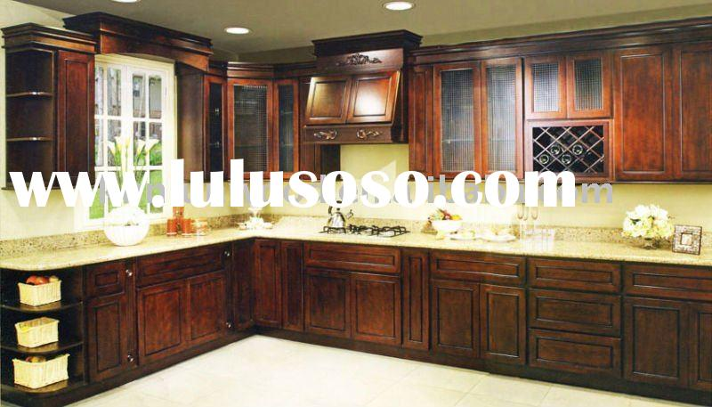 chocolate mahogany wooden kitchen cabinet corner kitchen cabinets face frame kitchen cabinets in fra