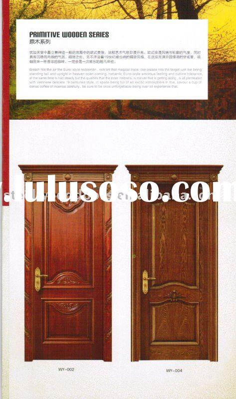 classic single wooden door design 2011