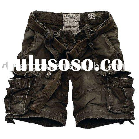 cool popular mens 100% cotton fashion cargo pants
