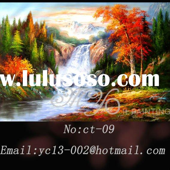 designs landscape oil painting on canvas