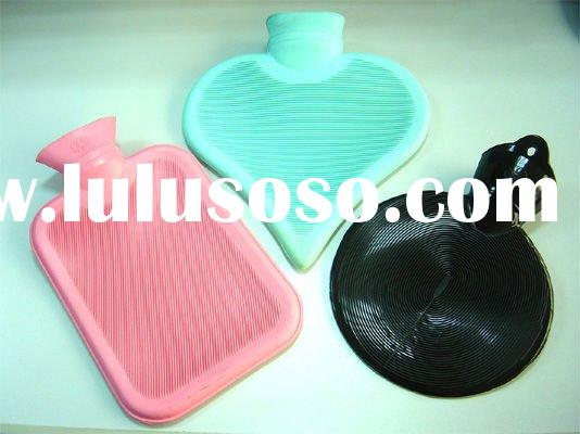 different shapes Rubber hot water bottle