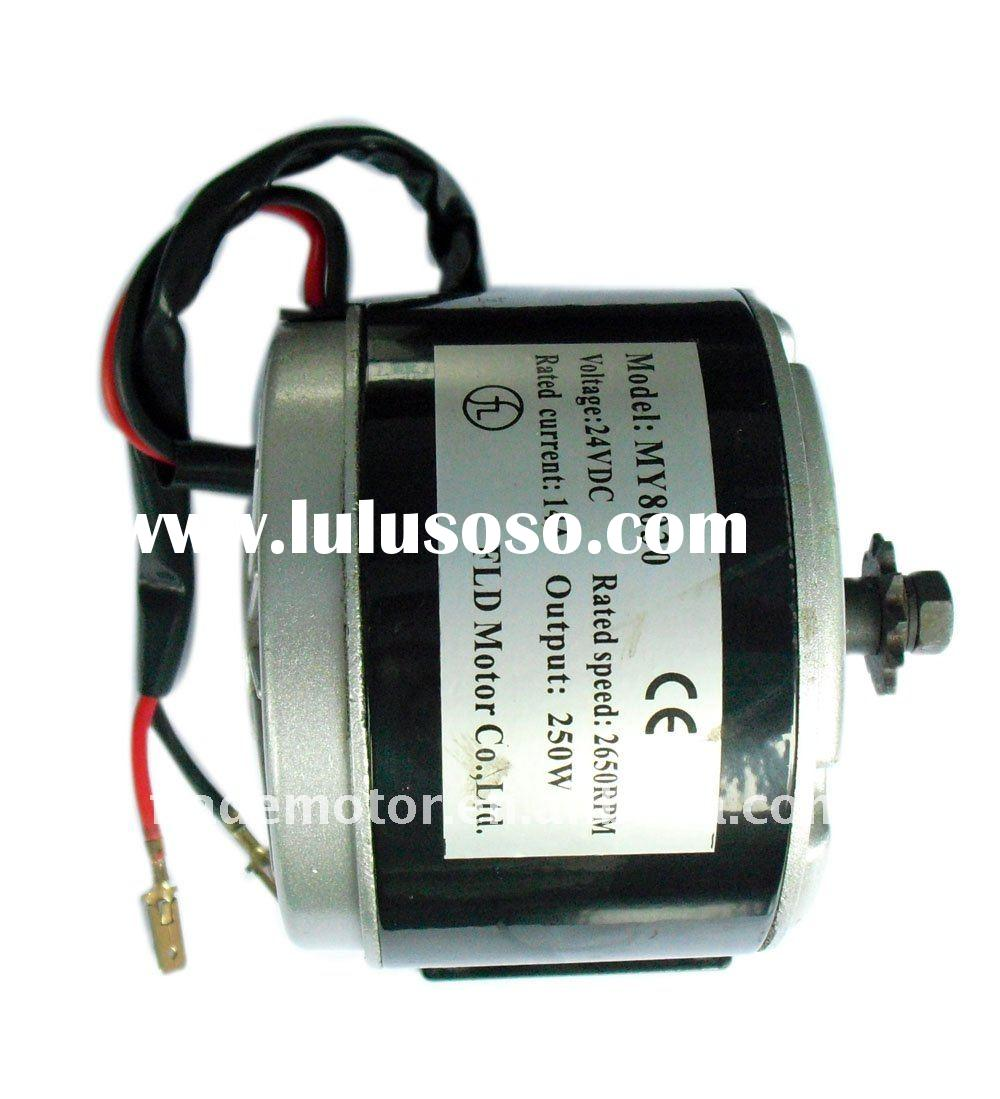 electric scooter permanent magnet dc brush motor