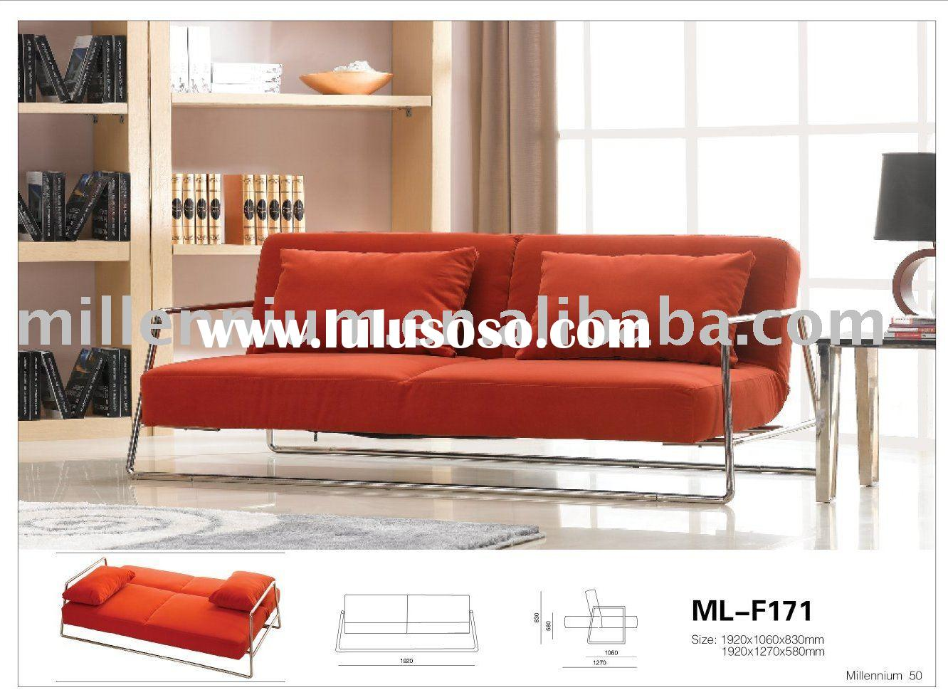 fabric modern sofa bed(ML-F171)