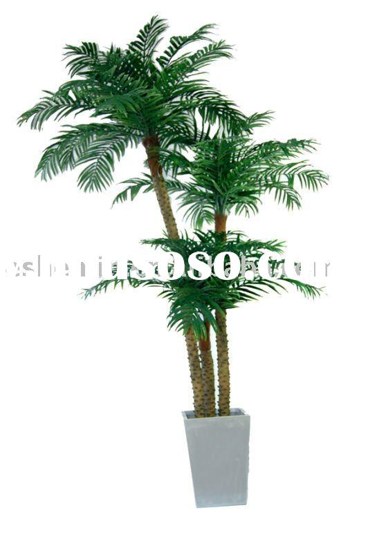 fake artificial palm tree