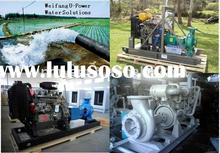 farm Irrigation Movable Diesel Water Pump