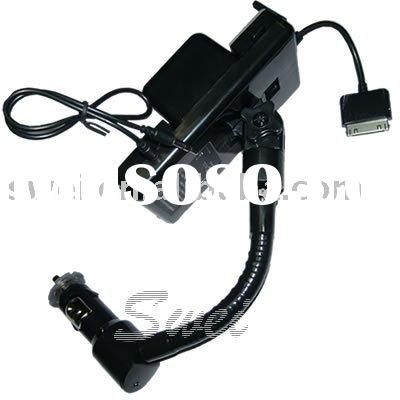 for iphone 4G FM handsfree car kit accessory