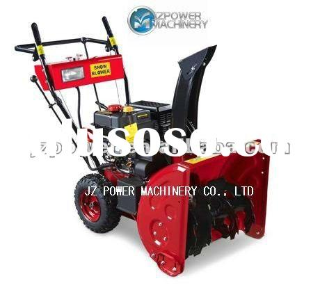 gas 7.0hp AC or DC start snow blower/ snowthrower