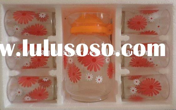 glass drinking cup sets
