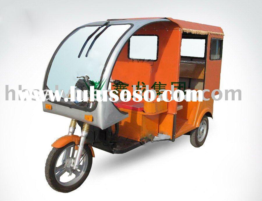 high quality passenger three wheel electric motorcycle