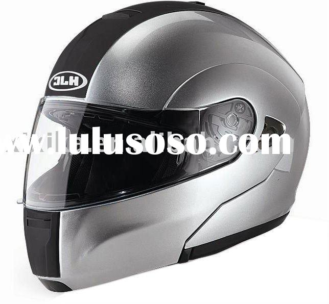 hjc flip up motorcycle helmets with double visor