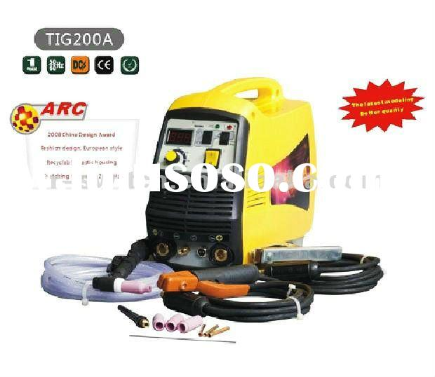 hot sell new design inverter all-functions tig welding machines/tig welder TIG200A