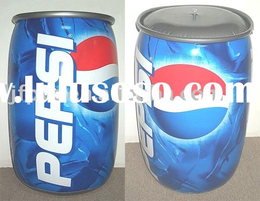 inflatable Coca-Cola can