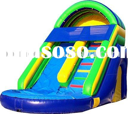 inflatable water game backyard water slide inflatable water slide