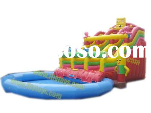 inflatable water slide/water games