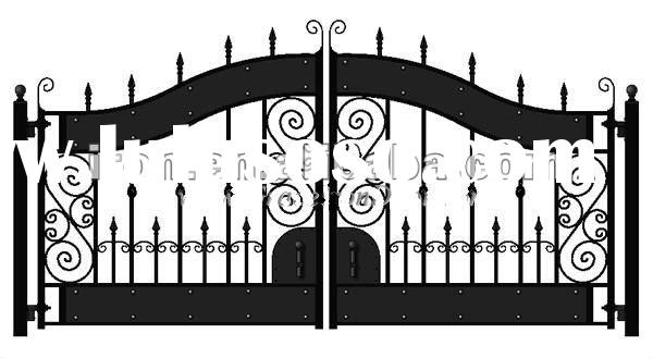 gallery for house front gate grill design images
