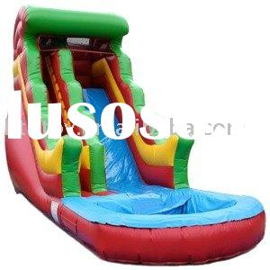 kids inflatable water slide with pool