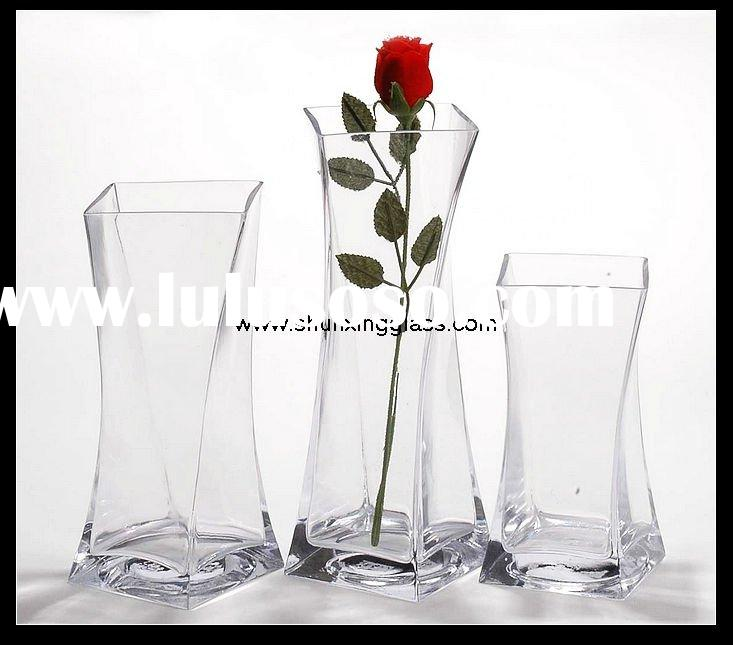 large clear glass vase for Decorative Clear Glass Vases