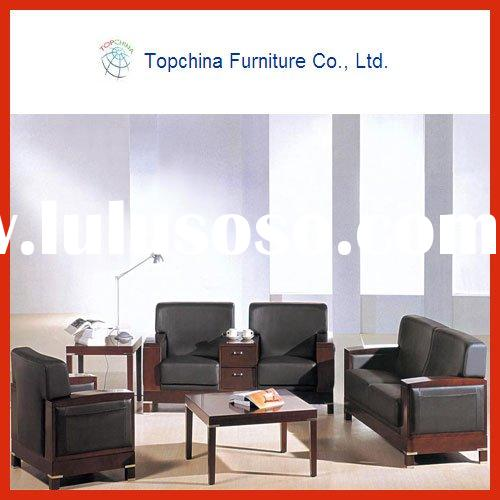 leather furniture sofa set for office supplier