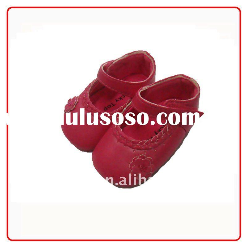 leather infant baby shoes BH GB222