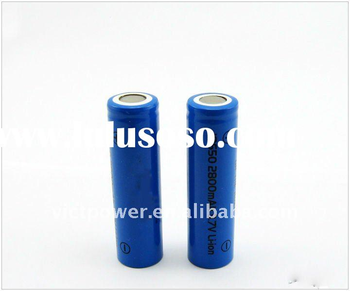 li-ion battery cell sanyo ICR18650 2600mAh battery cell 3.7V batteries cells