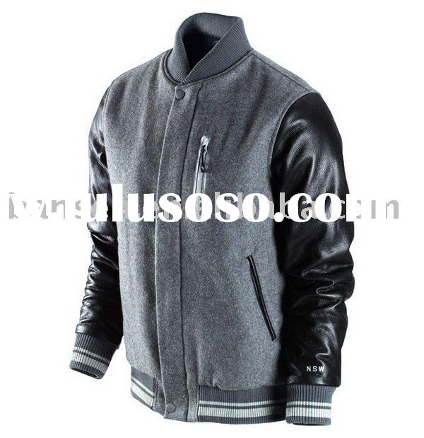 mens wool baseball jacket