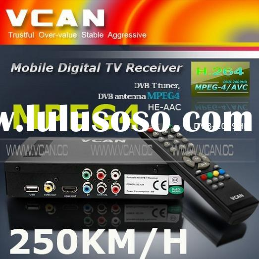 mobile digital TV receiver, DVB-T tuner, Set top box DVB antenna MPEG4