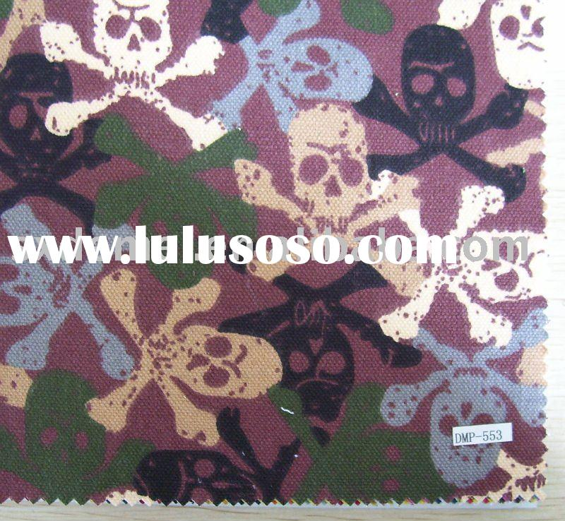 more than five hundred patterns skull print fabric