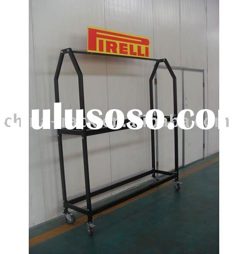 movable tire rack