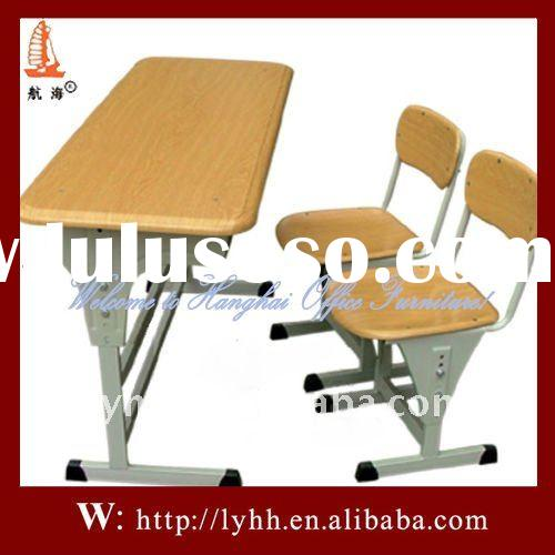 new design double school desk and chair metal office furniture