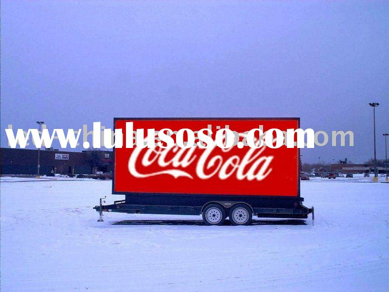 outdoor video mobile led advertising display screen