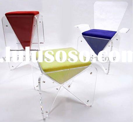 plastic chair, acrylic furniture, acrylic chair, acrylic elbow chair