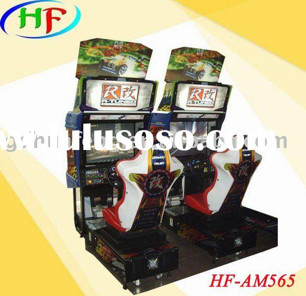 racing game machine/car racing game machine HF-AM565