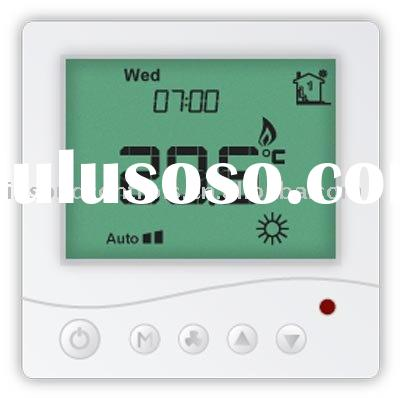 radiant floor heat thermostat for underfloor heating system control