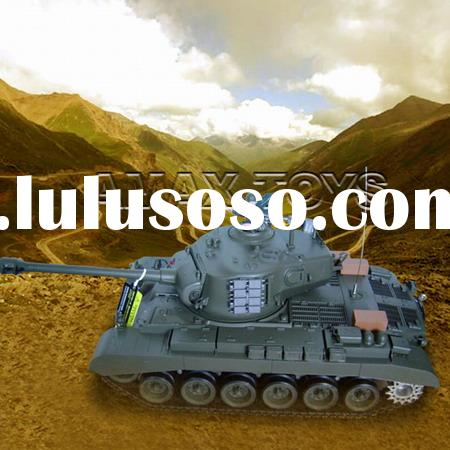 rb-3838-1 1:16 RC Tank - Snow Leopard - USA M26, with smoking lights and engin sound,model tank,r/c