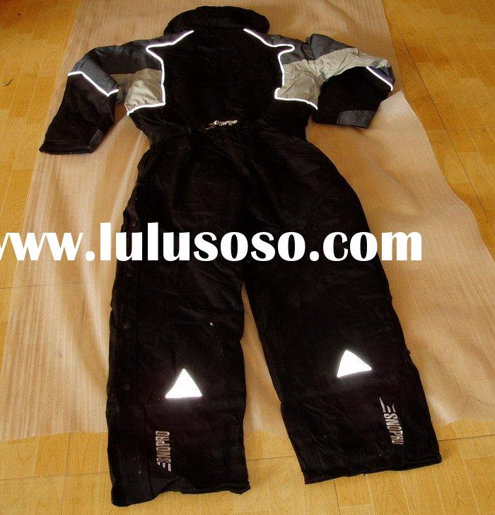safety working coverall with reflective tape