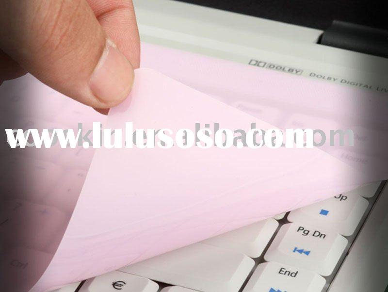 silicone keyboard cover pink