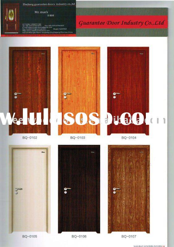 single wooden door design 2011