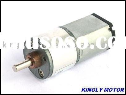 small 12v dc gear motor