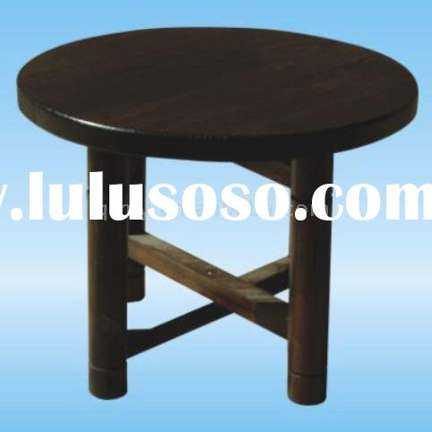 small folding wooden stool for flower pots
