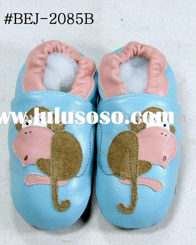 soft sole sheep skin leather baby Shoes