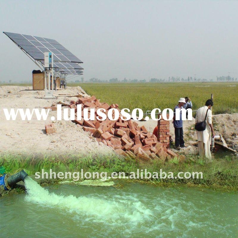 solar water pump for irrigation