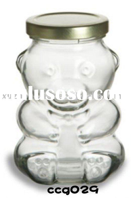 special shape glass bottle glass jar with tinplate lids