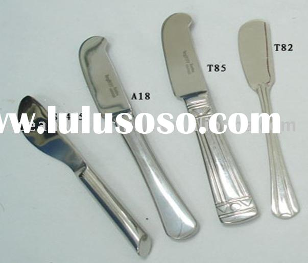 stainless steel butter knife set, cheese knife
