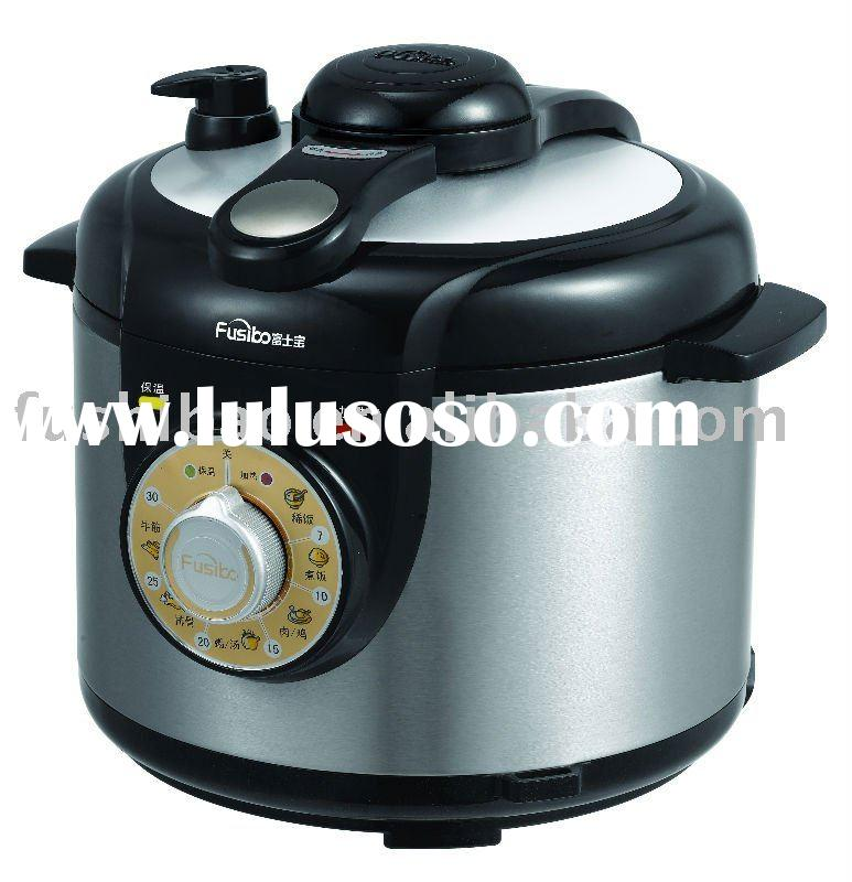 stainless steel electric pressure cooker (4L/5L/6L, Non-stick inner pot)
