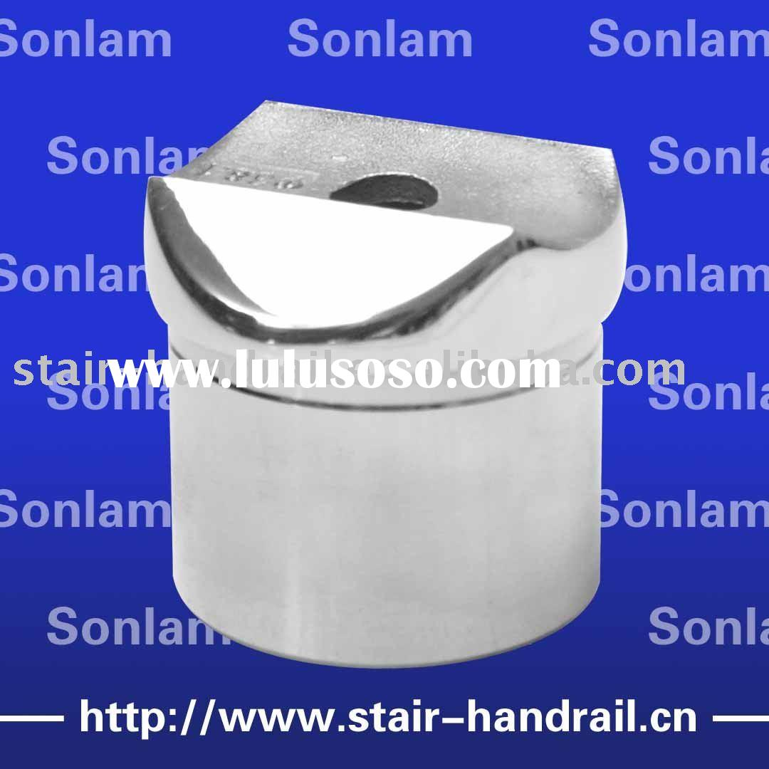stainless steel wall mounted railing bracket