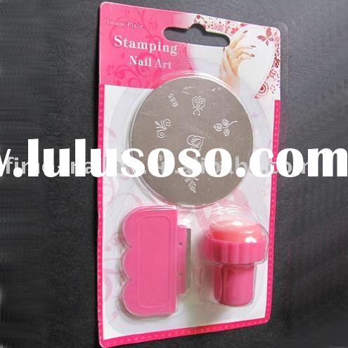 stamping nail art, nail art printer, stamp and scrapper set