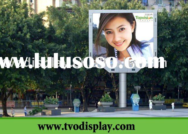 topvision PH20 outdoor advertising led message display panel
