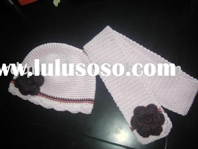 twin hats for infant/toddler/crochet hat/cotton hat/baby hat